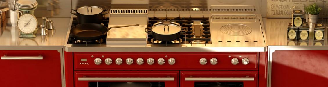 專業頂級獨立式爐連烤箱 & 鐵板燒配件