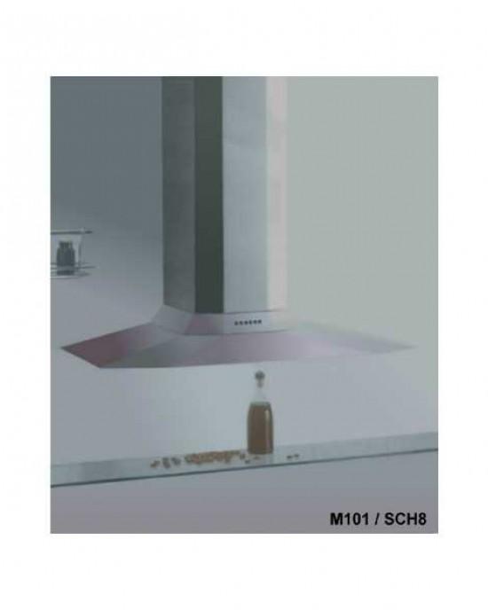 M101+ SCH 8義大利SIRIUS原裝進口不鏽鋼超薄流線型掛壁式抽油煙機