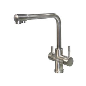 LK-8305 台製廚房#304不銹鋼三合一水龍頭(濾水器用)