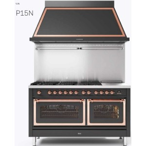 P15SNE3 義大利ILVE原裝進口獨立式/七口瓦斯爐+鐵板燒+烤箱(期貨)