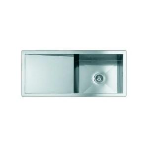 1210 850義大利FOSTER原裝進口不銹鋼下嵌單槽水槽 (期貨)