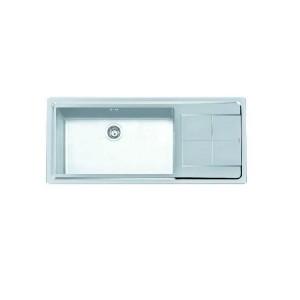 2211 052 SX 義大利FOSTER原裝進口3MM斜角處理不銹鋼單槽水槽 (期貨)