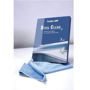 8333 000義大利FOSTER原裝進口一盒3片裝微纖維布料(專屬不銹鋼清潔用)